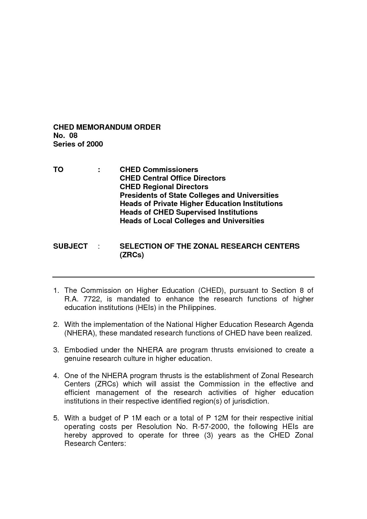 post memorandum format mla 839544