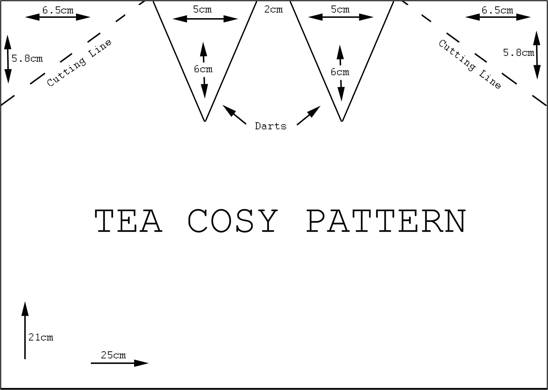 fitted tea cosy tutorial