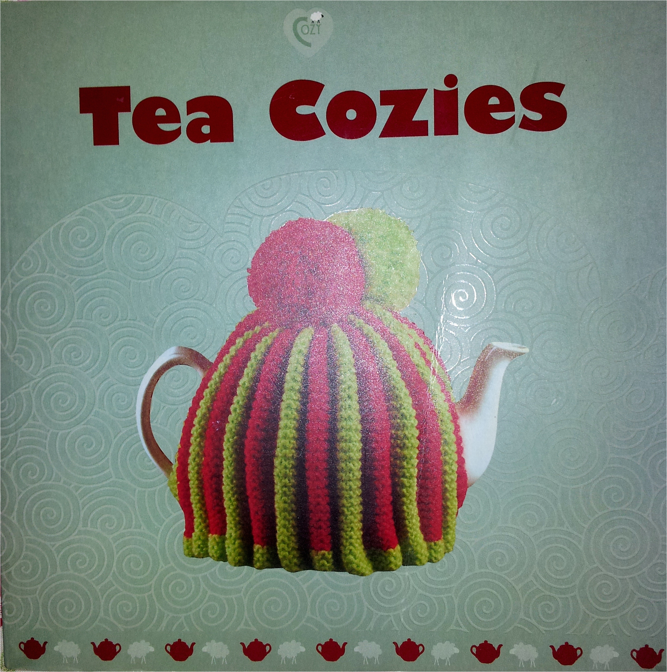 my vintage style knitted tea cosy cozy