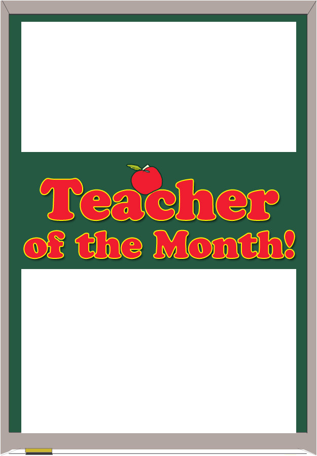 Teacher Of the Month Certificate Template Certificates 4 Teachers Free Certificate Builder Award