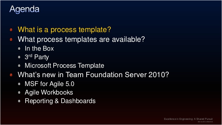 team foundation server process templates for effective project management