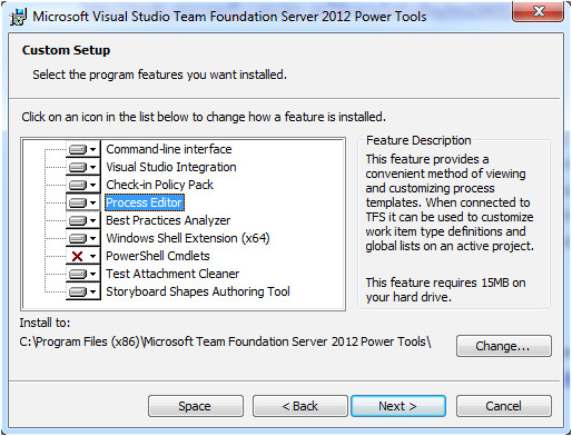 team foundation server process templates