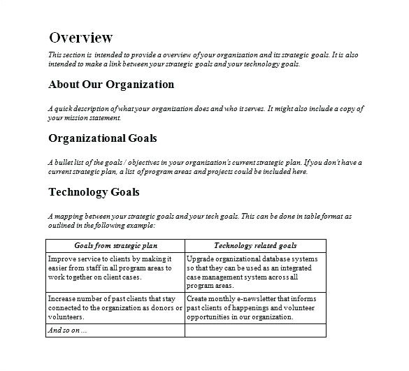 technology plan template for nonprofits technology lesson plan writing download