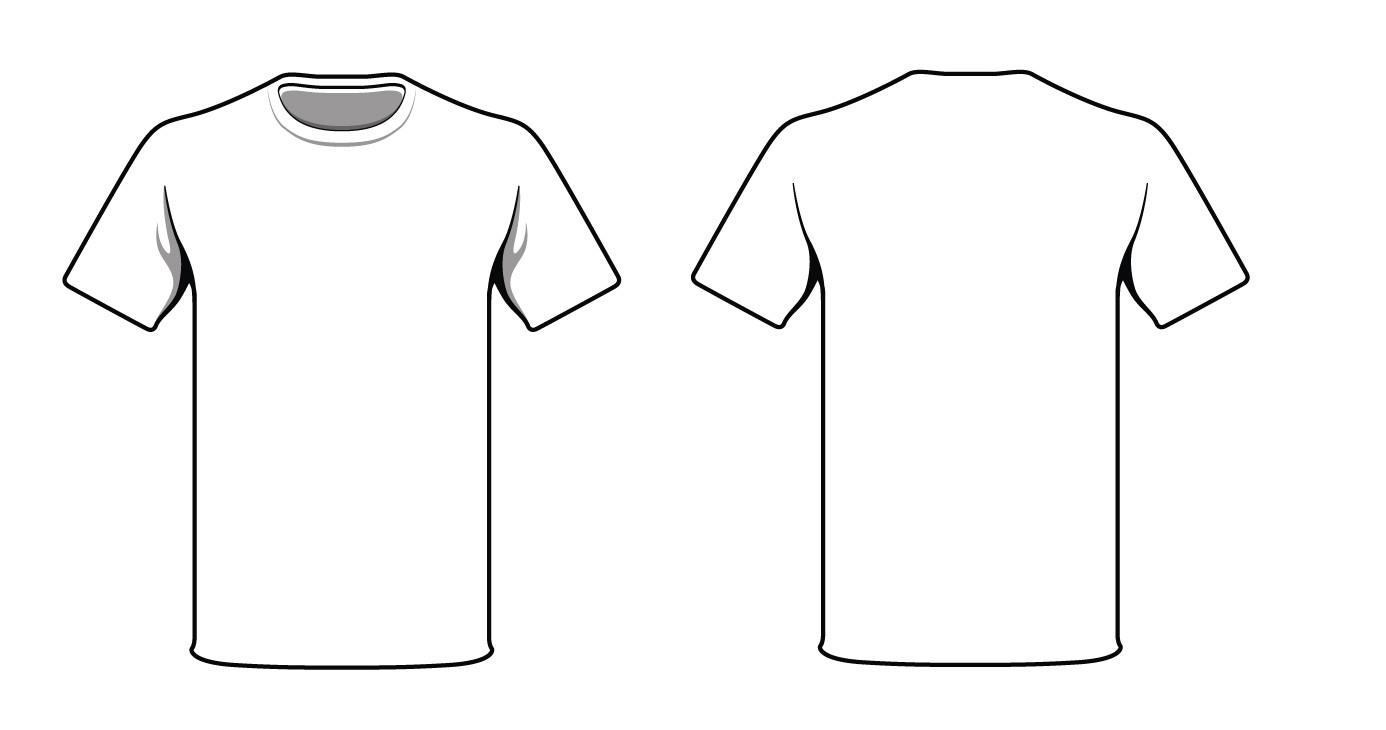 Teeshirt Template T Shirt Outline Template Online Calendar Templates