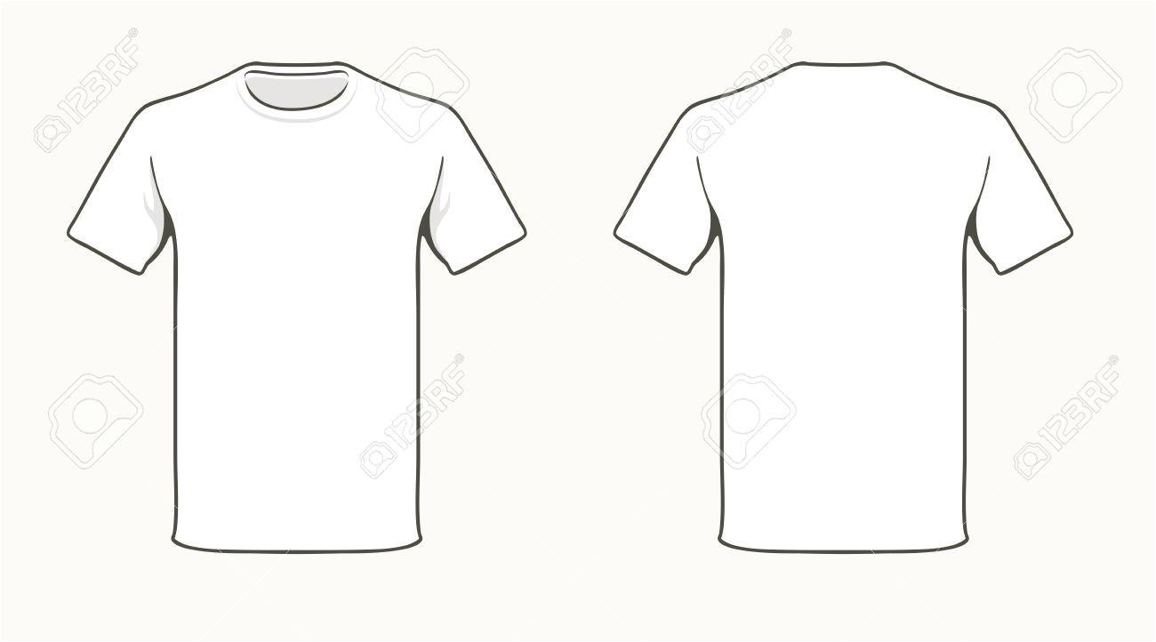 Teeshirt Template T Shirt Template Vector
