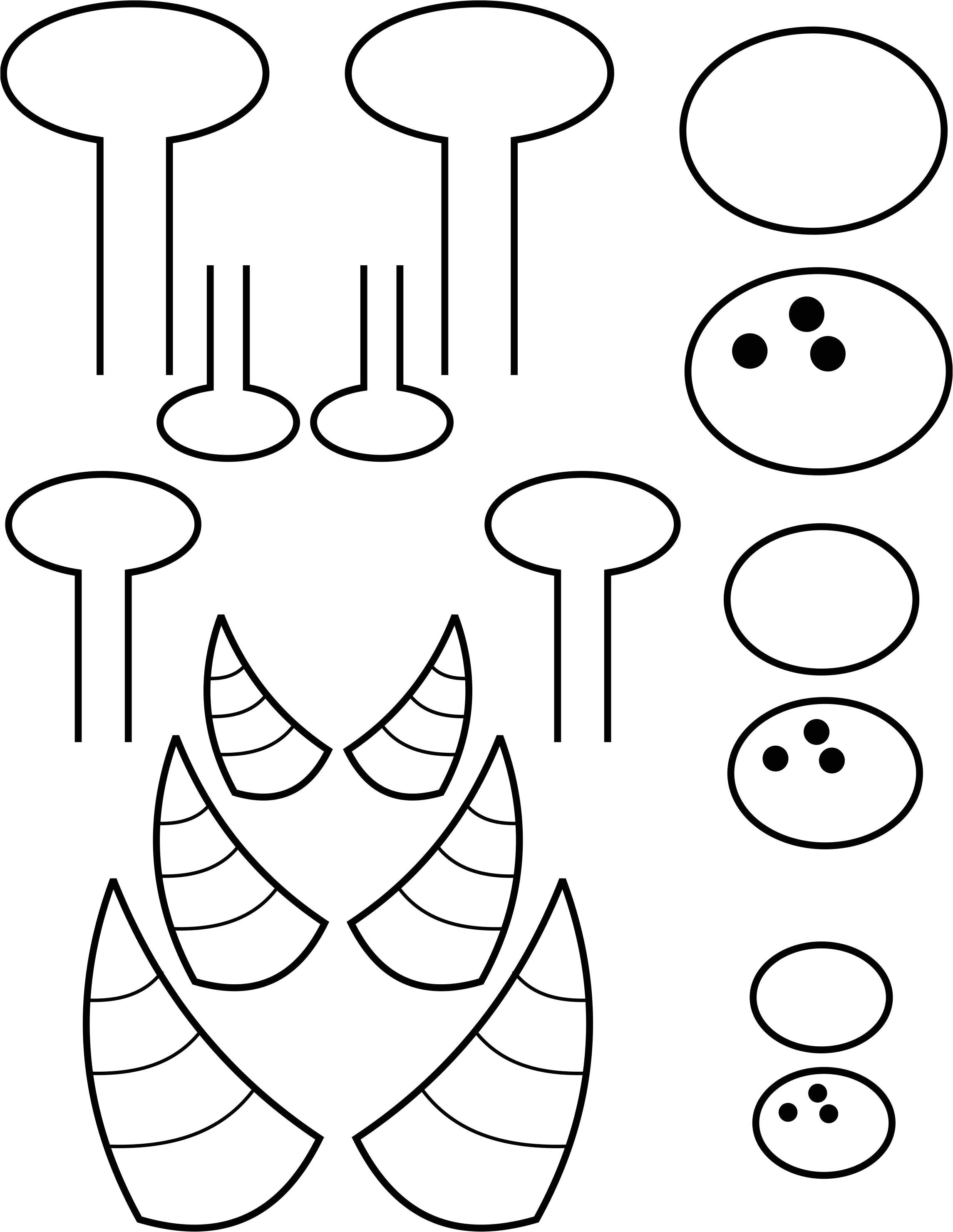 post printable monster eye templates 299812