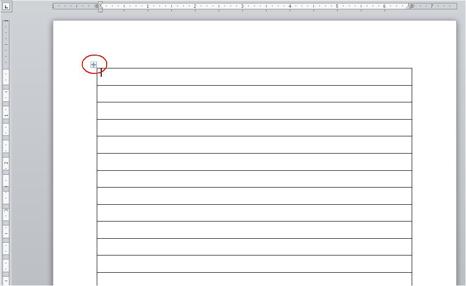Template Blogger 1 Column A Quick Way to Create A List Of Sequential Numbers In Word