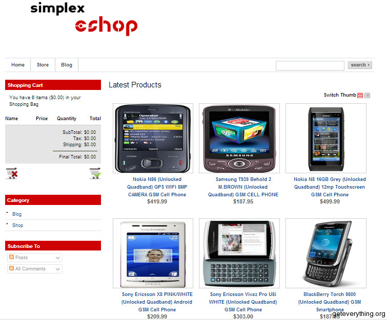 Template Ecommerce Blogspot top 5 Ecommerce Blogger Templates Of the Year 2012