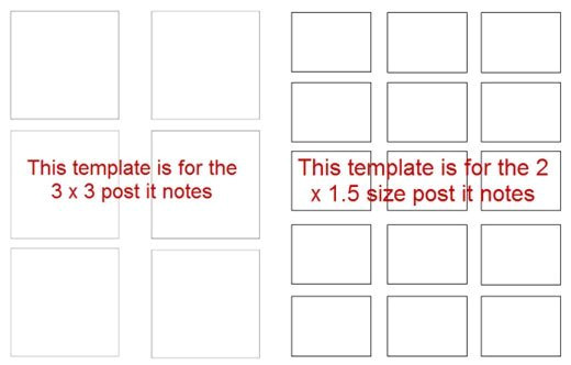 Template for Printing On Post It Notes 5 Great Post It Note Ideas for Teachers Paperzip
