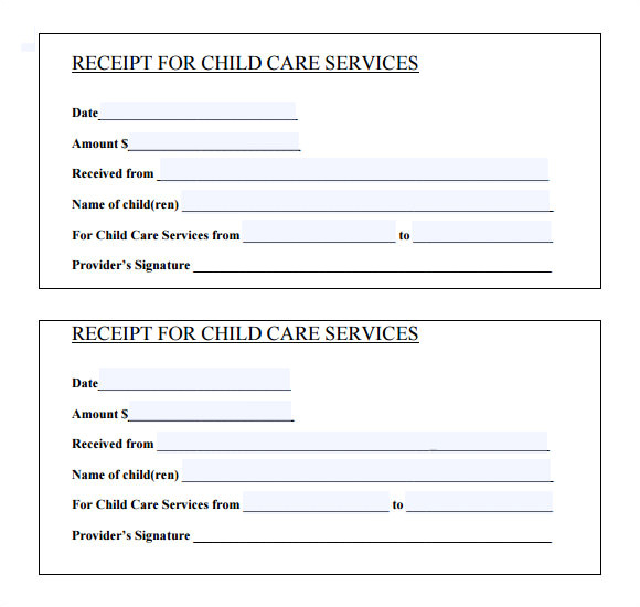 Template for Receipt Of Payment for Services 20 Sample General Receipt Templates to Download Sample