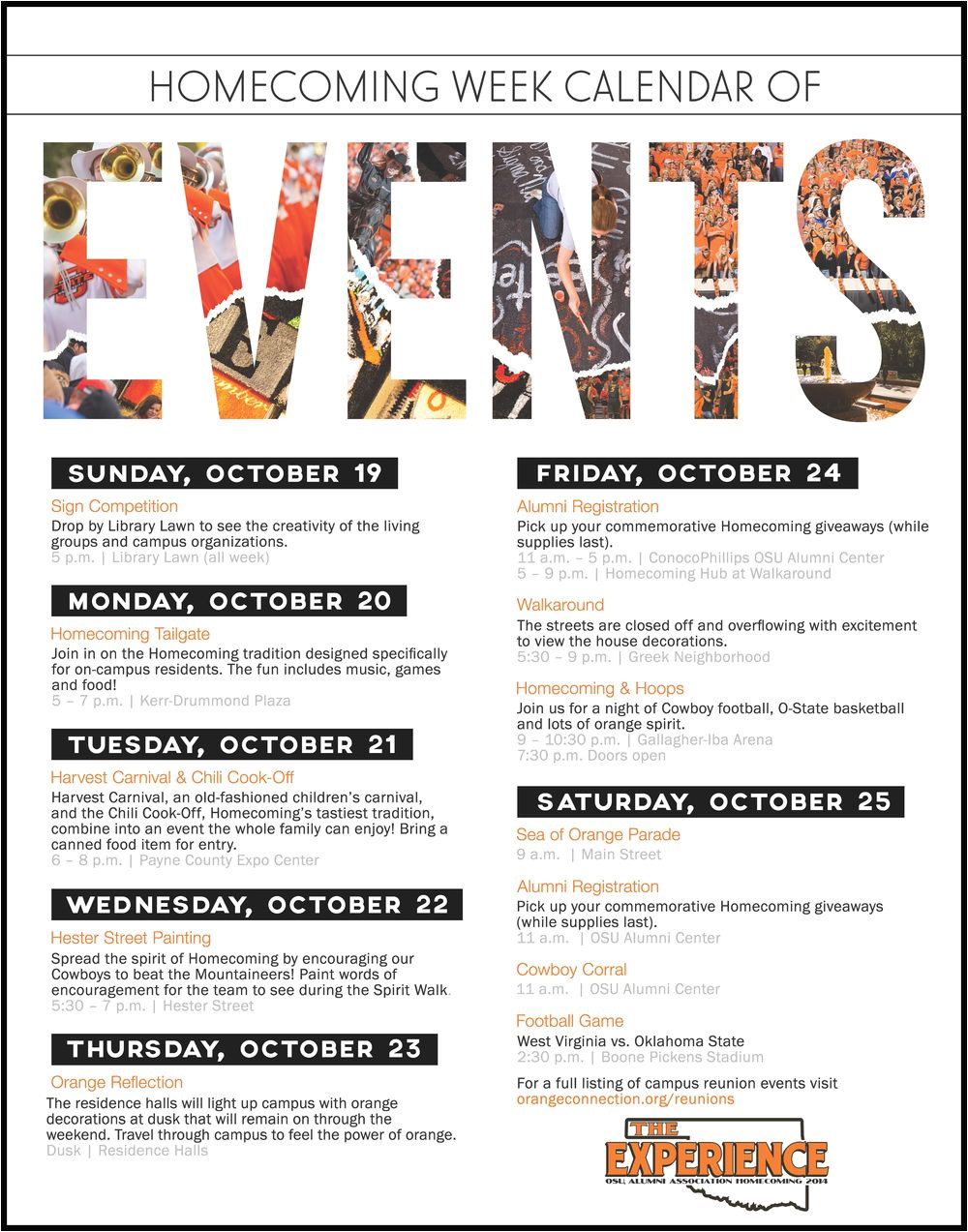 Template for Schedule Of events Schedule Of events Flyer Google Search Sample Flyers