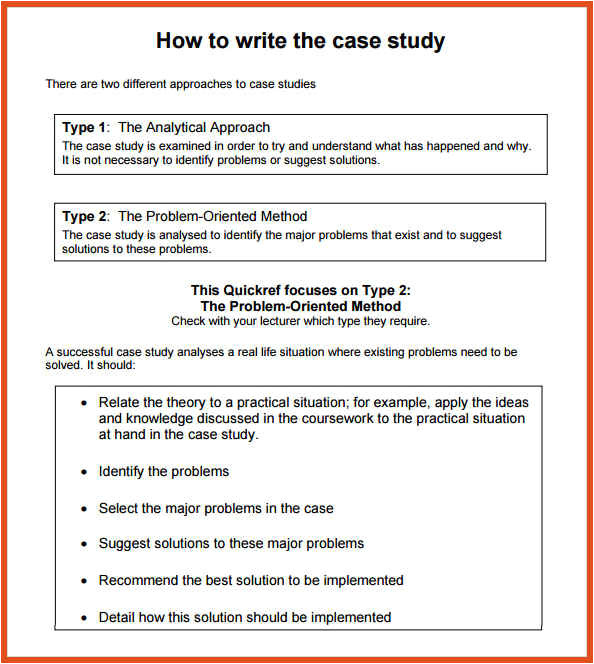 Template for Writing A Case Study Case Study format Bravebtr