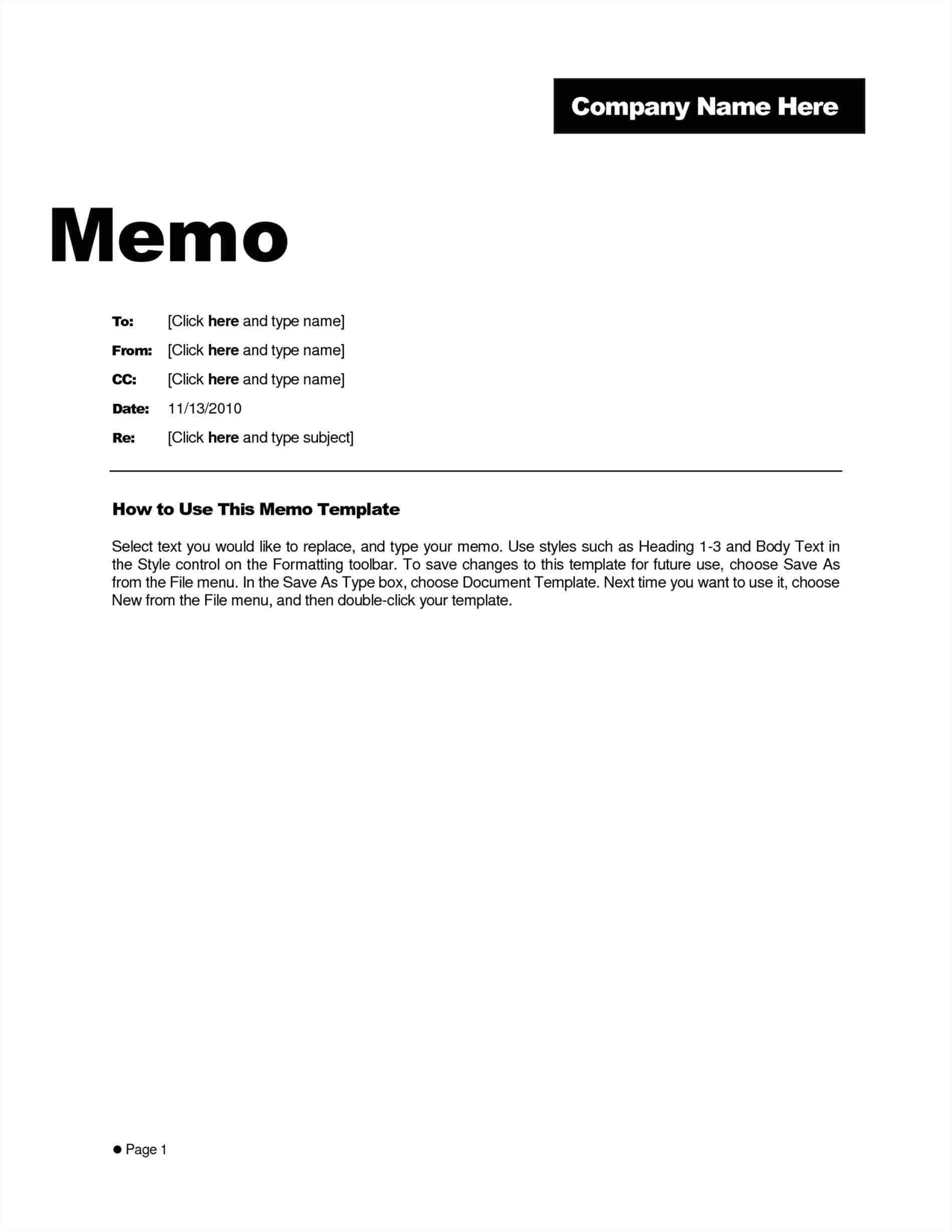 Template for Writing A Memo Blank Memo Template Mayamokacomm
