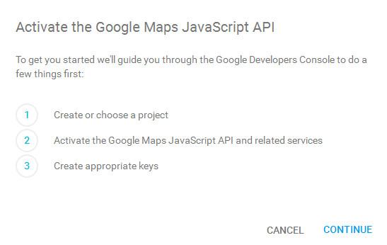 get google maps api key