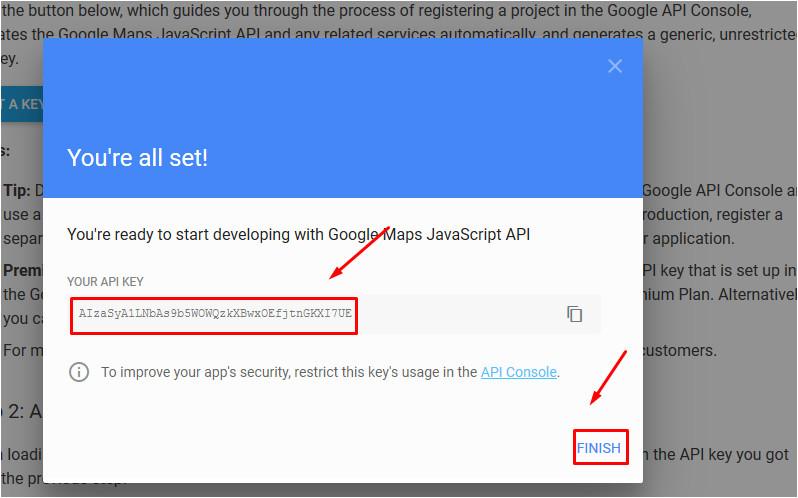 multipurpose website templates google maps not show api key issue