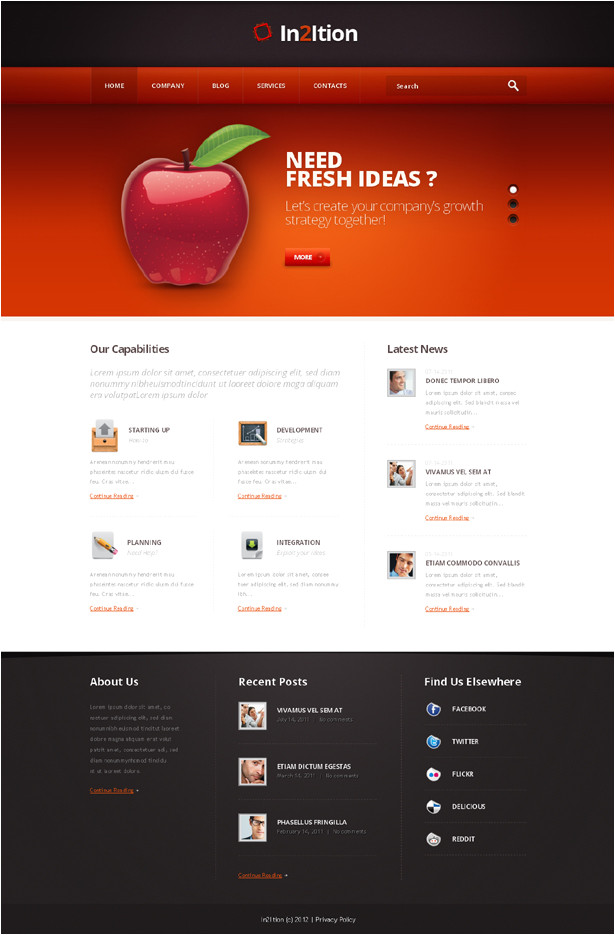 high quality templates from templatemonster com