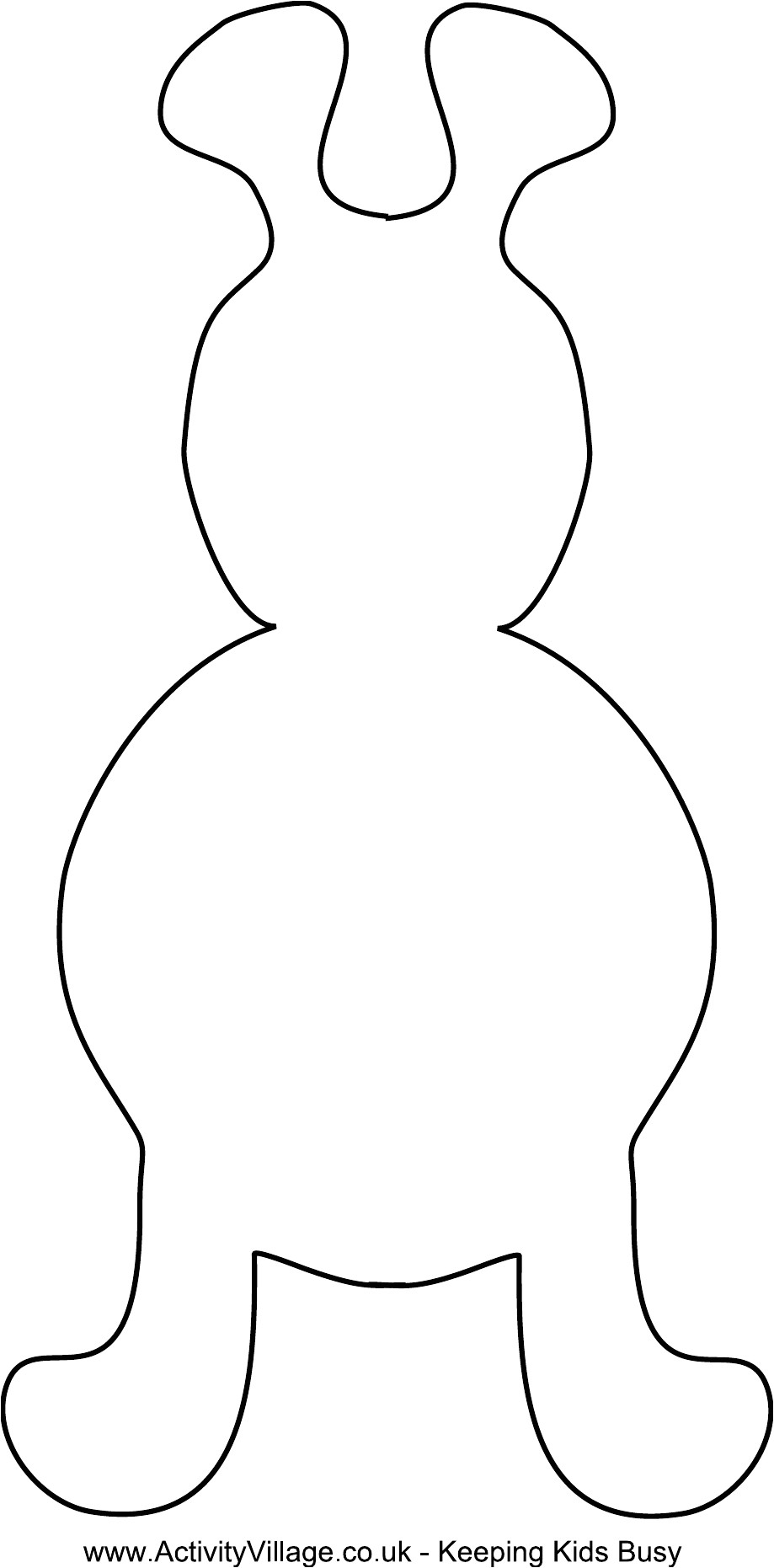 free toy monster template