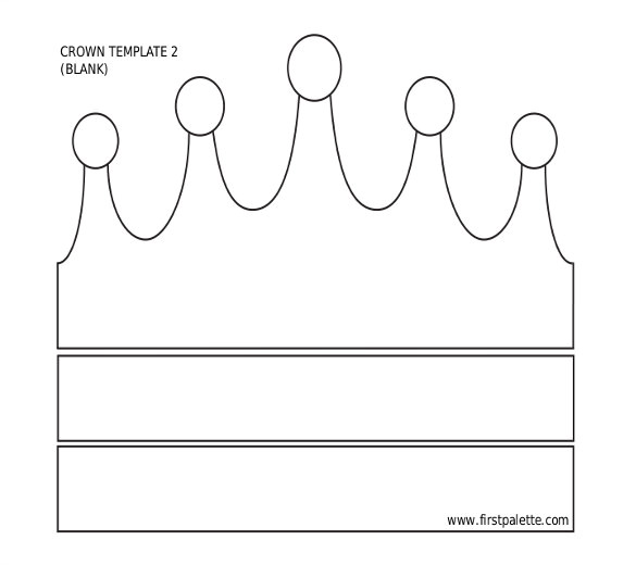 Template Of A Crown 12 Paper Crown Templates Free Sample Example format