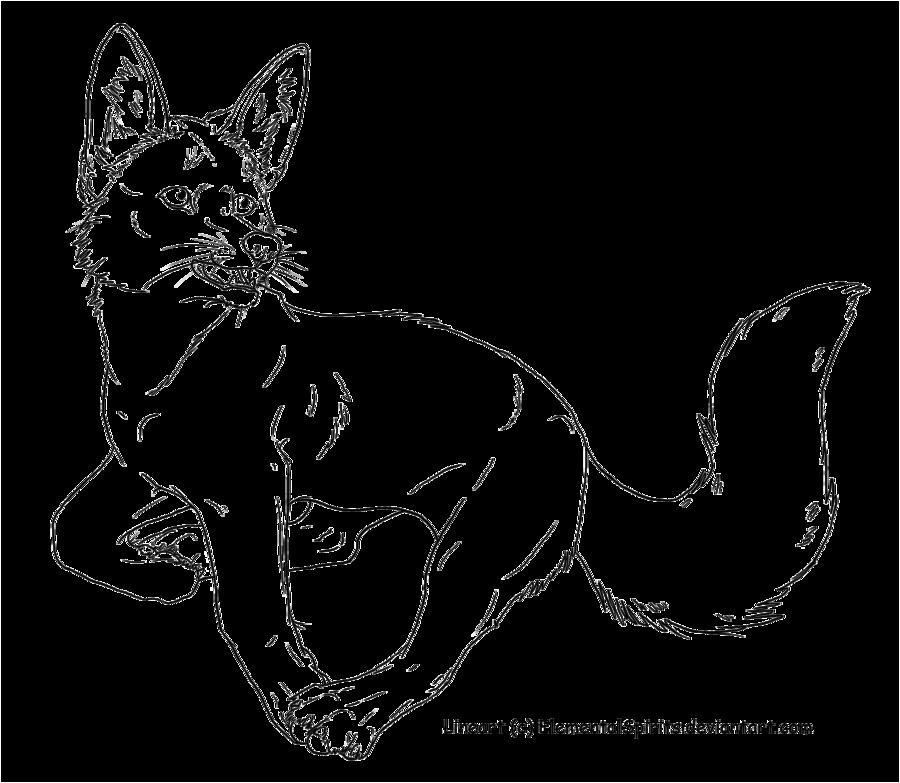 Template Of A Fox Kit Fox Template by Elementalspirits On Deviantart