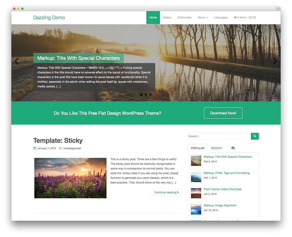 32 free themes for effective content marketing