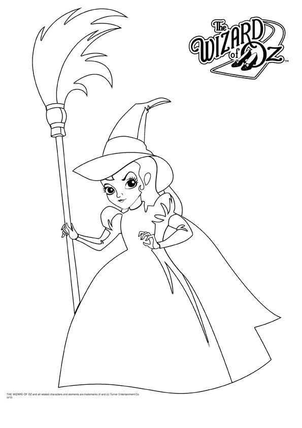 Templates and Wizards Wizard Of Oz Coloring Book Bulk Coloring Page