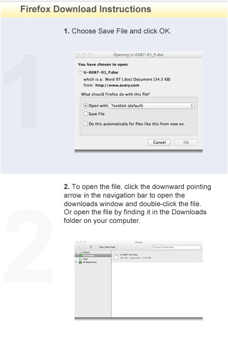 how to download templates