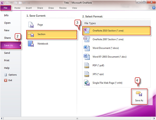 Templates for Onenote 2010 Creating A Template In Onenote 2010 Officetutor Usa