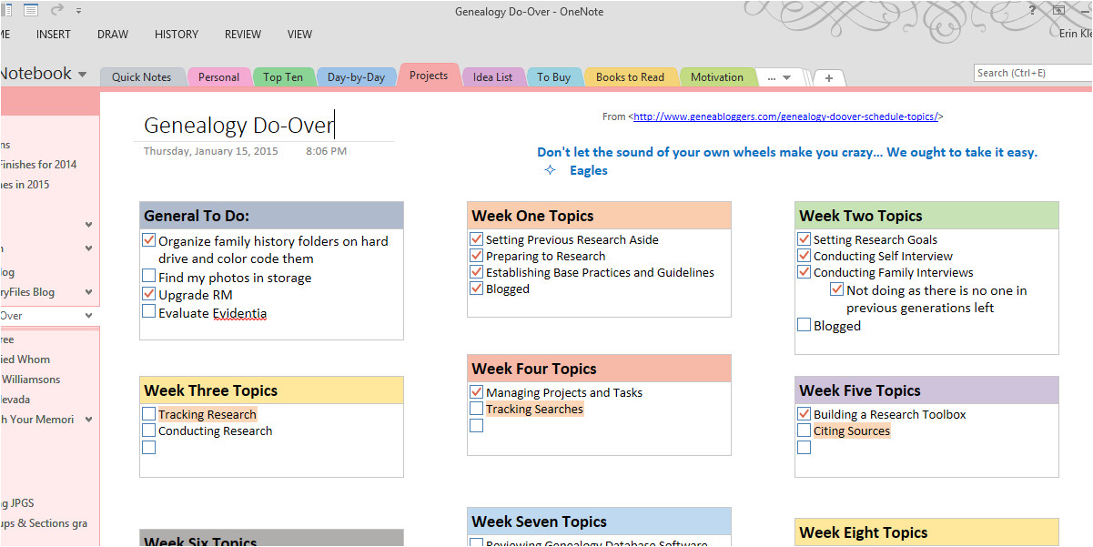 onenote to do list template 377