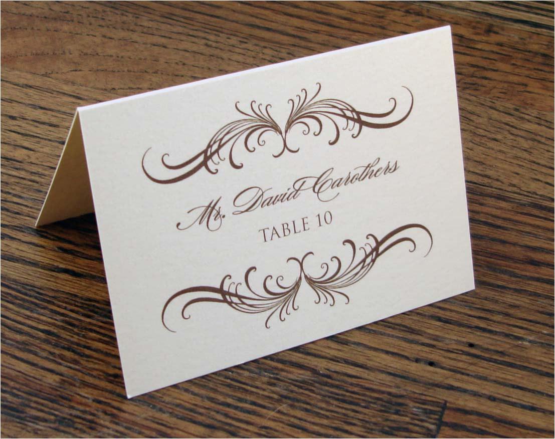 post wedding name cards printable 51300