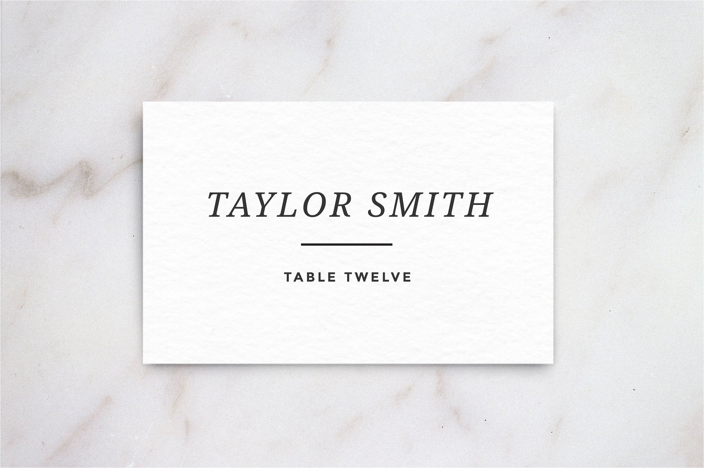 139892 wedding table place card template