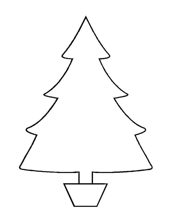 free christmas tree templates 1356277