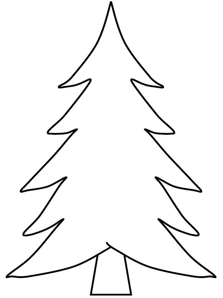 Templates Of Christmas Trees Best 25 Christmas Tree Template Ideas On Pinterest