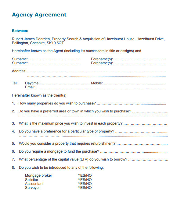 Templating Agent Insurance Agent Agreement Template Ten Things You Should