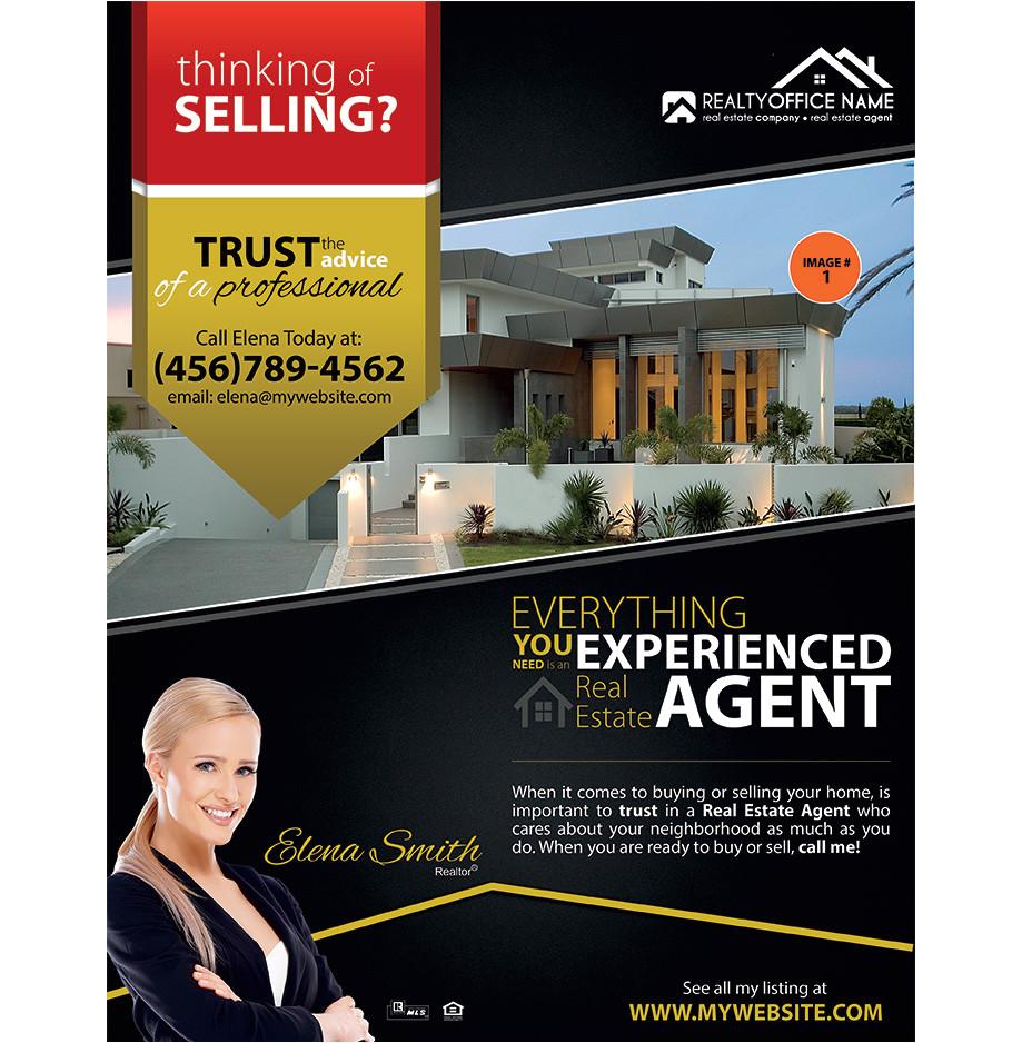 real estate agent brochure templates