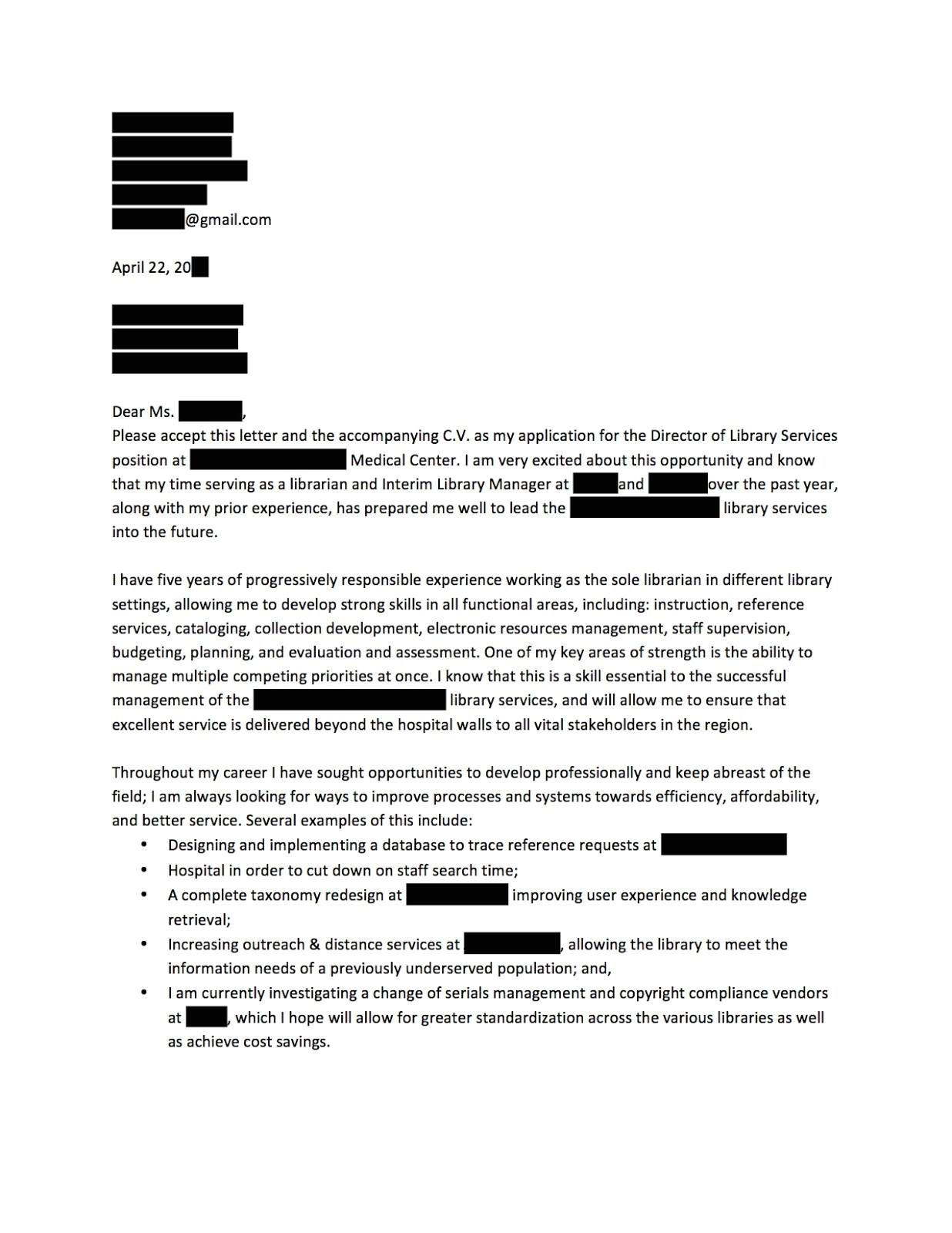 cover letter for rental application