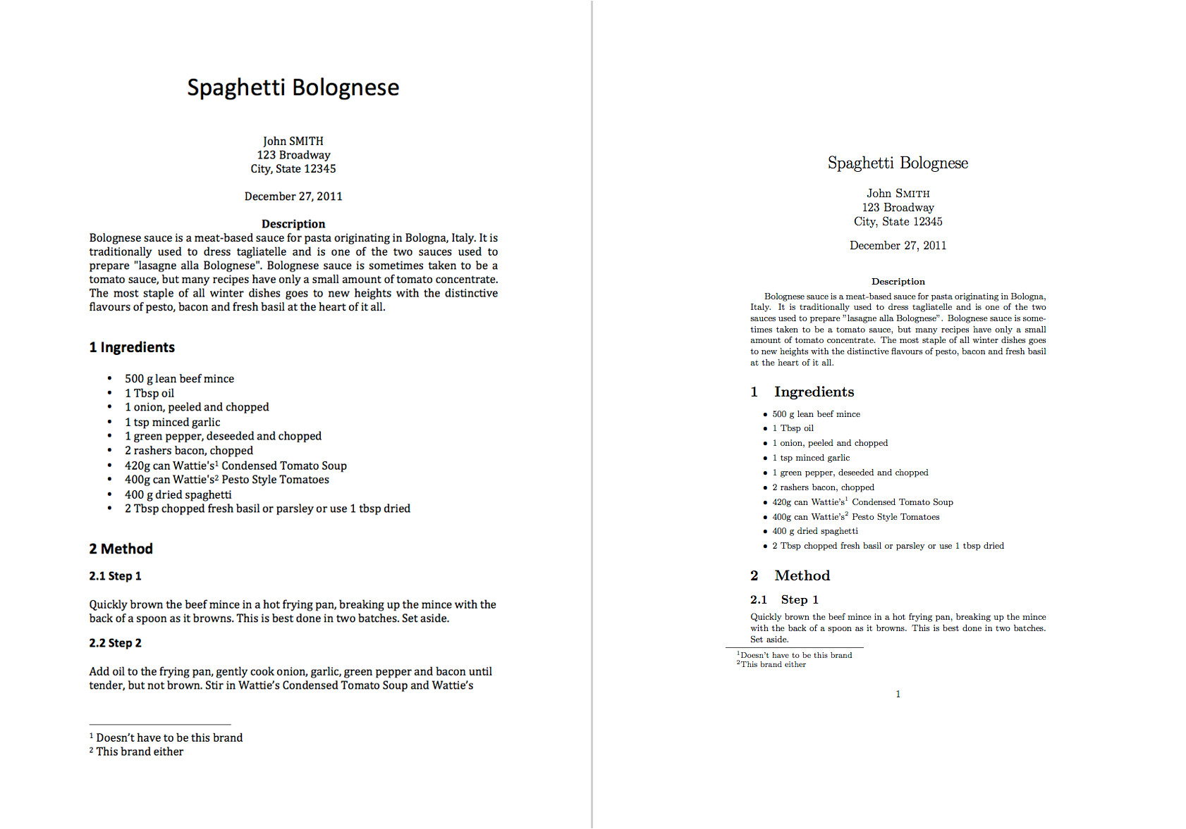 Tex Document Template Latex Templates What is Latex