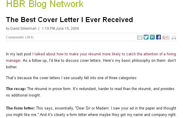 The Best Cover Letter I Ve Ever Read the Best Cover Letter I Ever Received Letters Cover