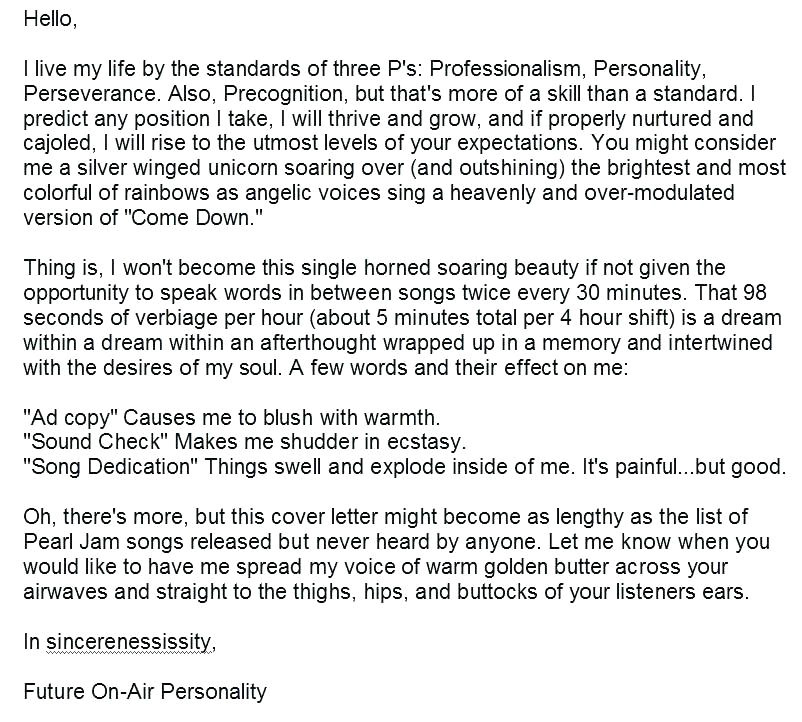 the best cover letter i ve ever read