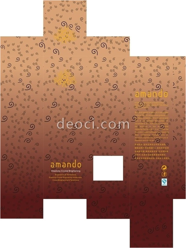 The Packaging and Design Templates sourcebook Cosmetics Packaging Design Template the Coreldraw Vector