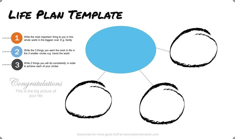 what do do with life plan template blog plan template