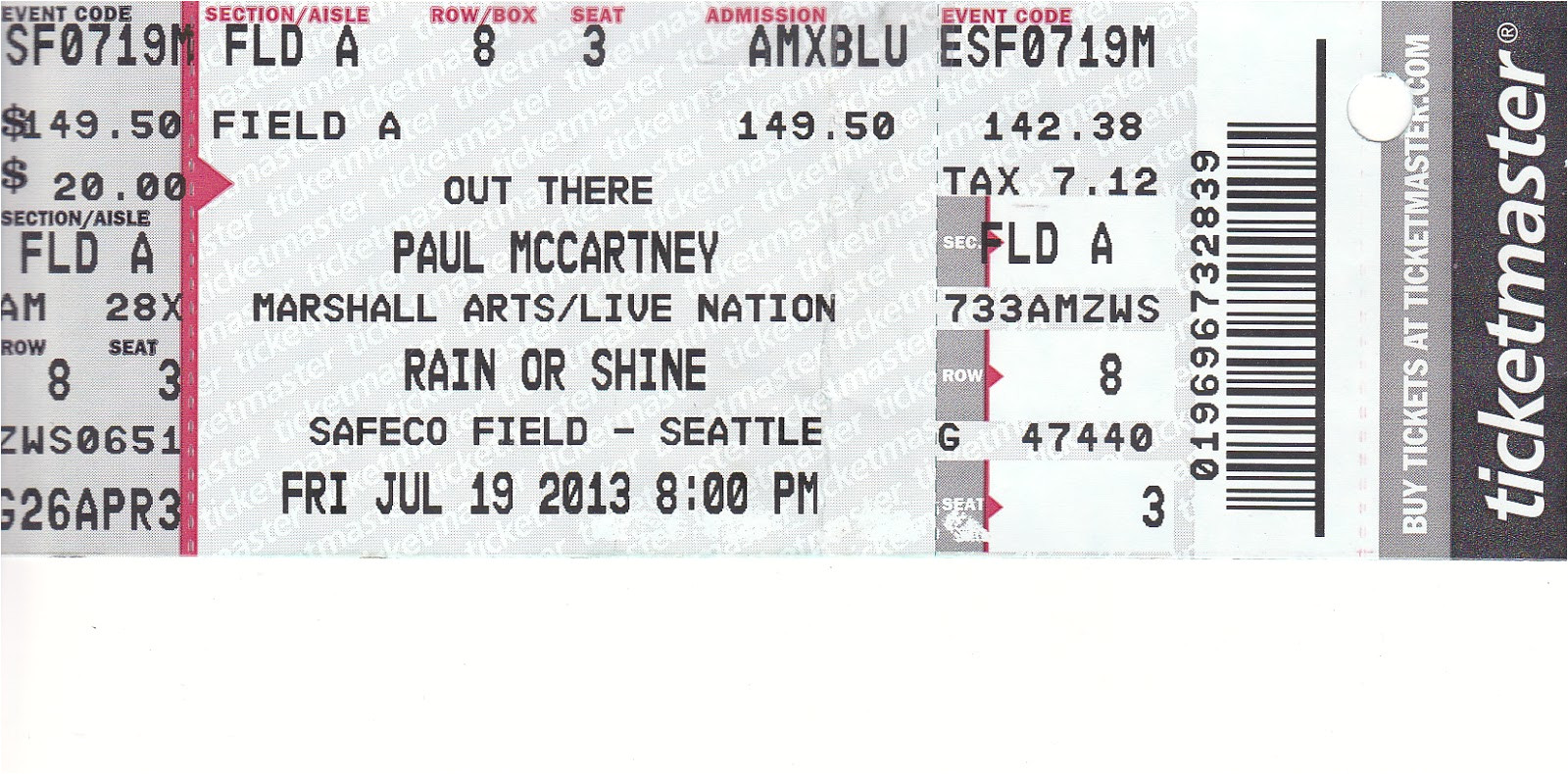 inspiring detail information of event concert ticket template example by ticketmaster