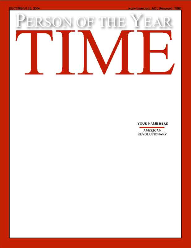 Time Magazine Person Of the Year Cover Template Time Magazine Template Sadamatsu Hp