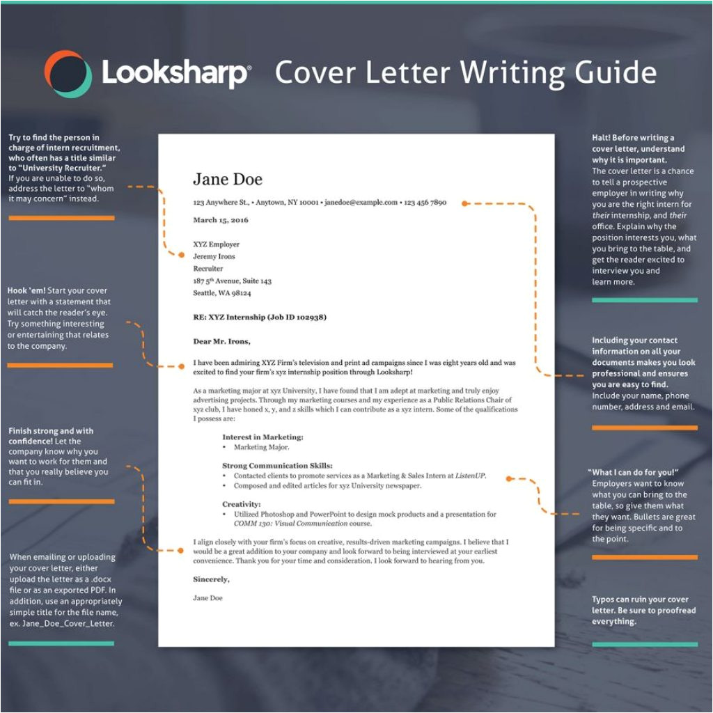 dandy tips for writing a cover letter