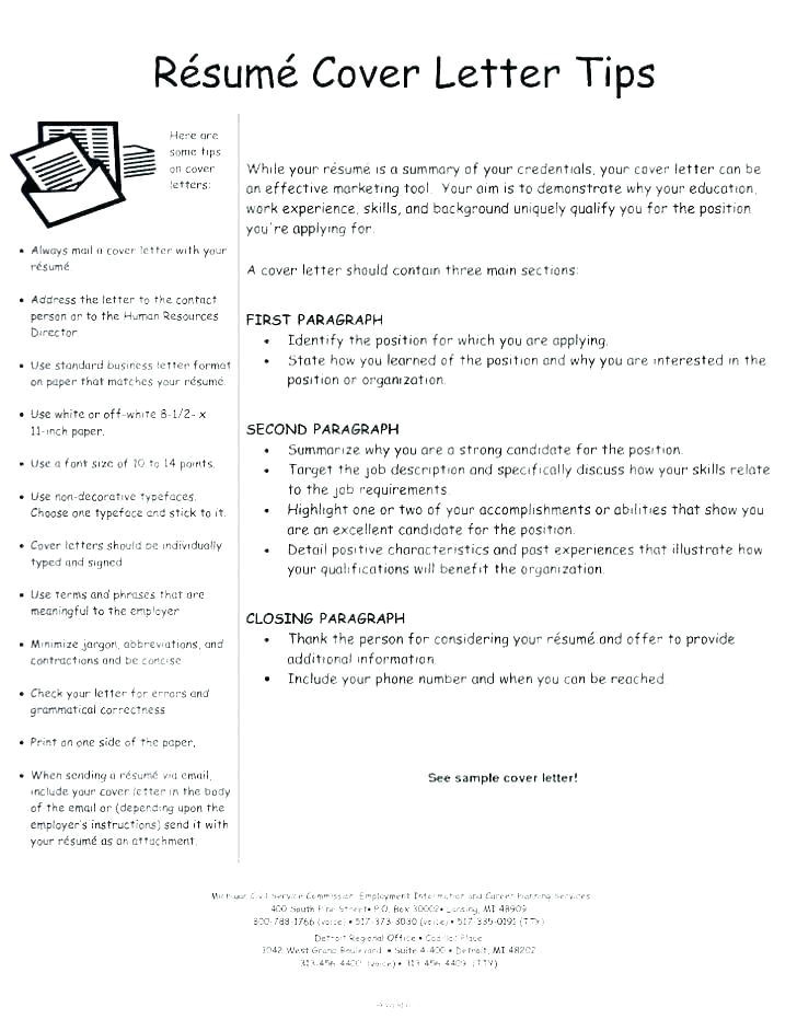 tips for writing cover letters effectively