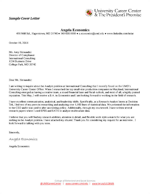 cover letter writing tips examples
