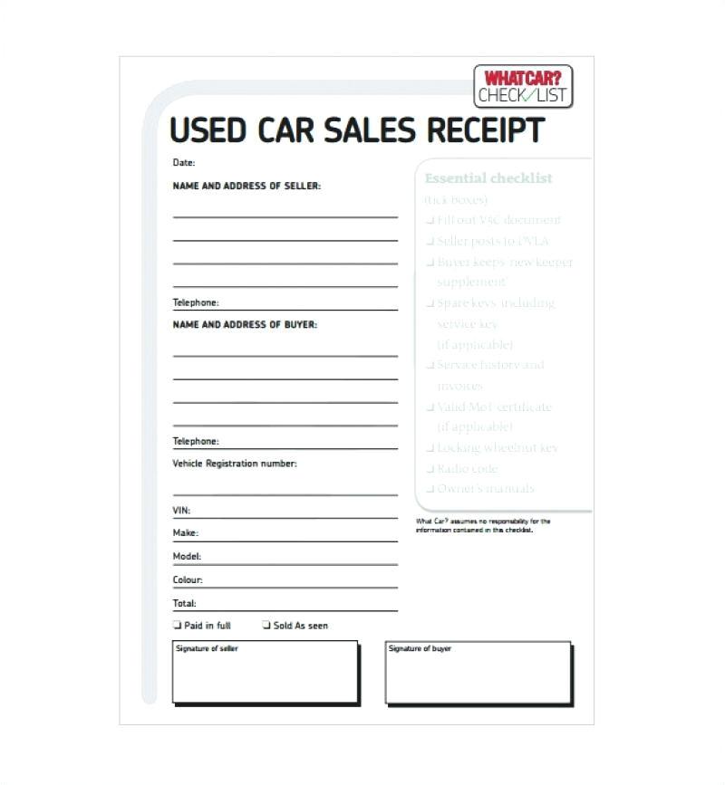 tire receipt template car sale receipt template 6 free word excel format tire shop receipt template