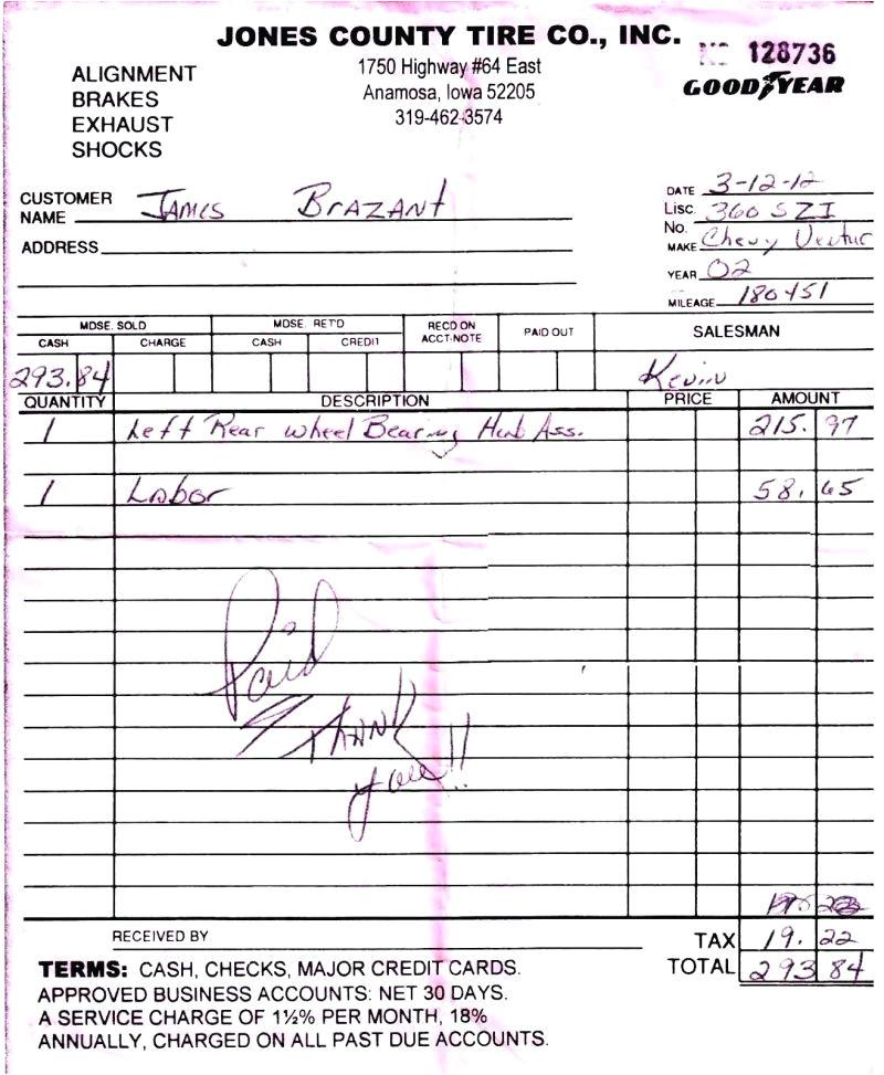 tire receipt template tire shop invoice starts at for free tire shop receipt template