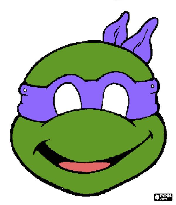 post ninja turtle template printable 298704