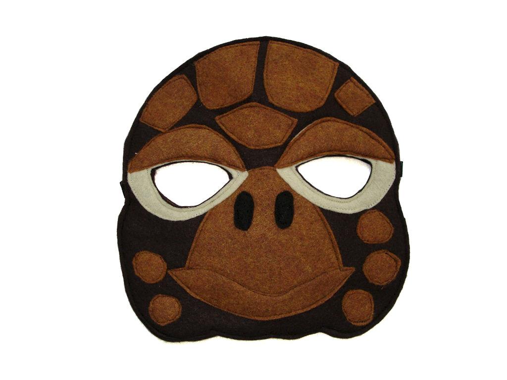 children s animal turtle felt mask