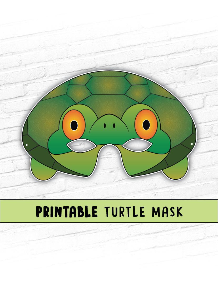 turtle mask tortoise mask party mask